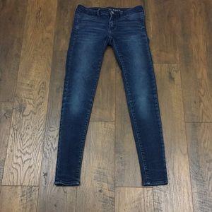 American Eagle super low jegging jeans